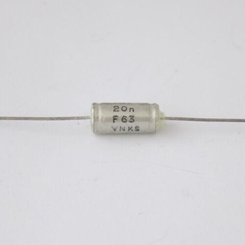 15x condensadores Philips KS 20000pF 20nf 63V 1/%