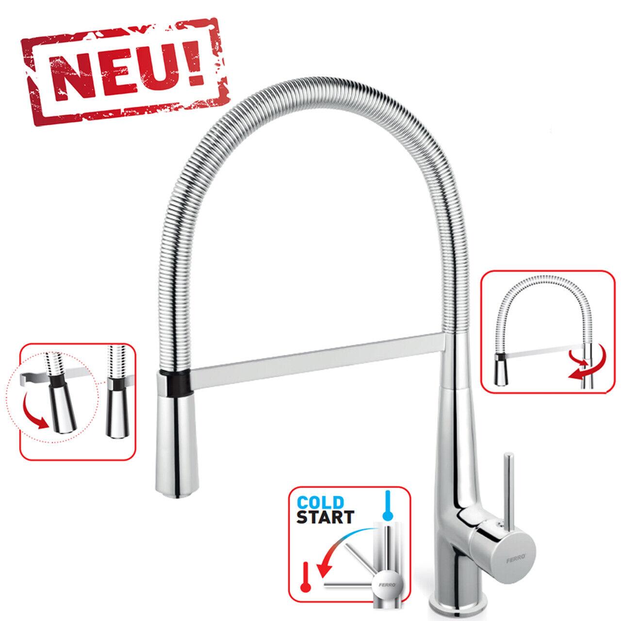 Hohe Einhebel Küchenarmatur Spültischarmatur Küchen Wasserhahn - FERRO  SONATA