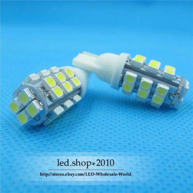 10 X T10 White 28 SMD LED 168 194 W5W Wedge Light Bulb Lamp 12V for Car Light