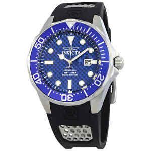 Invicta-Grand-Diver-Blue-Carbon-Fiber-Dial-Men-039-s-Watch-12559