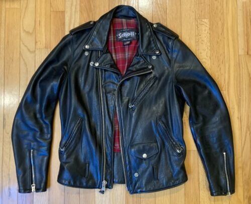 Schott 626 Cowhide Perfecto Fitted Leather Motorcy