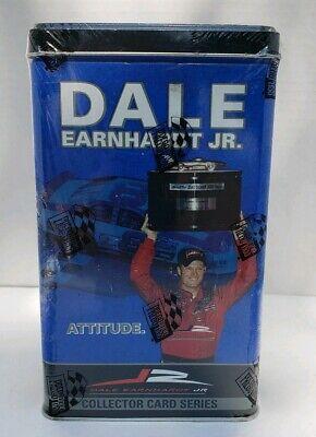 HáBil 2004 Press Pass Dale Earnhardt Jr Attitude Collector Card Series Blue Tin New