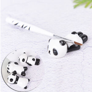 Nail-Brush-Pen-Rack-Ceramic-Stand-Holder-Cute-Panda-Manicure-Nail-Art-Tool-CA