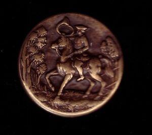 pin-039-s-relief-3D-en-metal-Bronze-vieiili-Chasse-hunting-Corner-TW-amp-W-cheval-horse