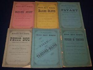 1879-1880-MAURICE-GRAU-039-S-FRENCH-OPERA-COMPANY-PROGRAM-LOT-OF-6-BARBE-O-2425