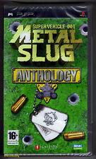 PSP metal slug anthology (2007) francese/olandese boxtext, nuovo & SONY sigillato in fabbrica