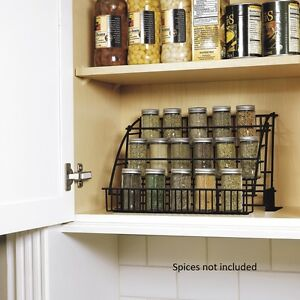 New Rubbermaid Kitchen In Cabinet Pull Down Spice Rack Storage