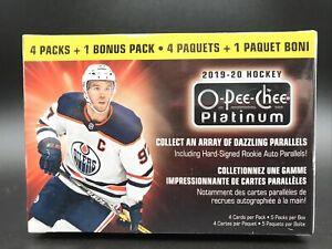 2019-20-Upper-Deck-O-Pee-Chee-Platinum-Hockey-Blaster-Box-New-LitCards-QTY