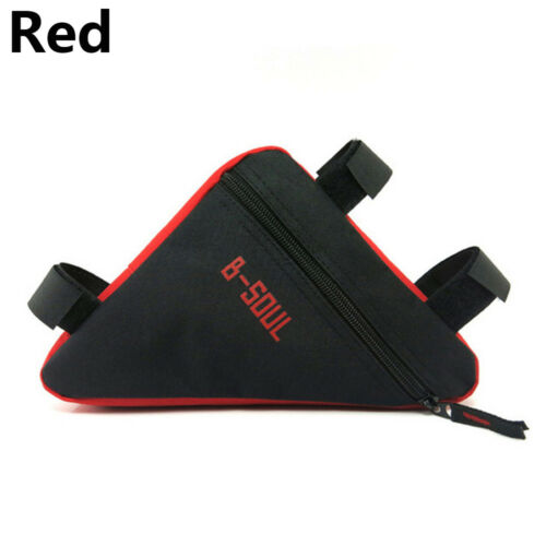 Accessories Triangle Bicycle Bag Bike Beam Pocket Bicycle Bags Front Package