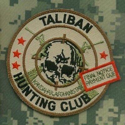 KANDAHAR© WHACKER SP OPS SEAL SAS JTF2 TROPHY vel©®Ø SSI: Taliban Hunting Club