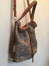 LANCEL Paris Daligala DALI Daligramme Bucket Shoulder Crossbody Handbag