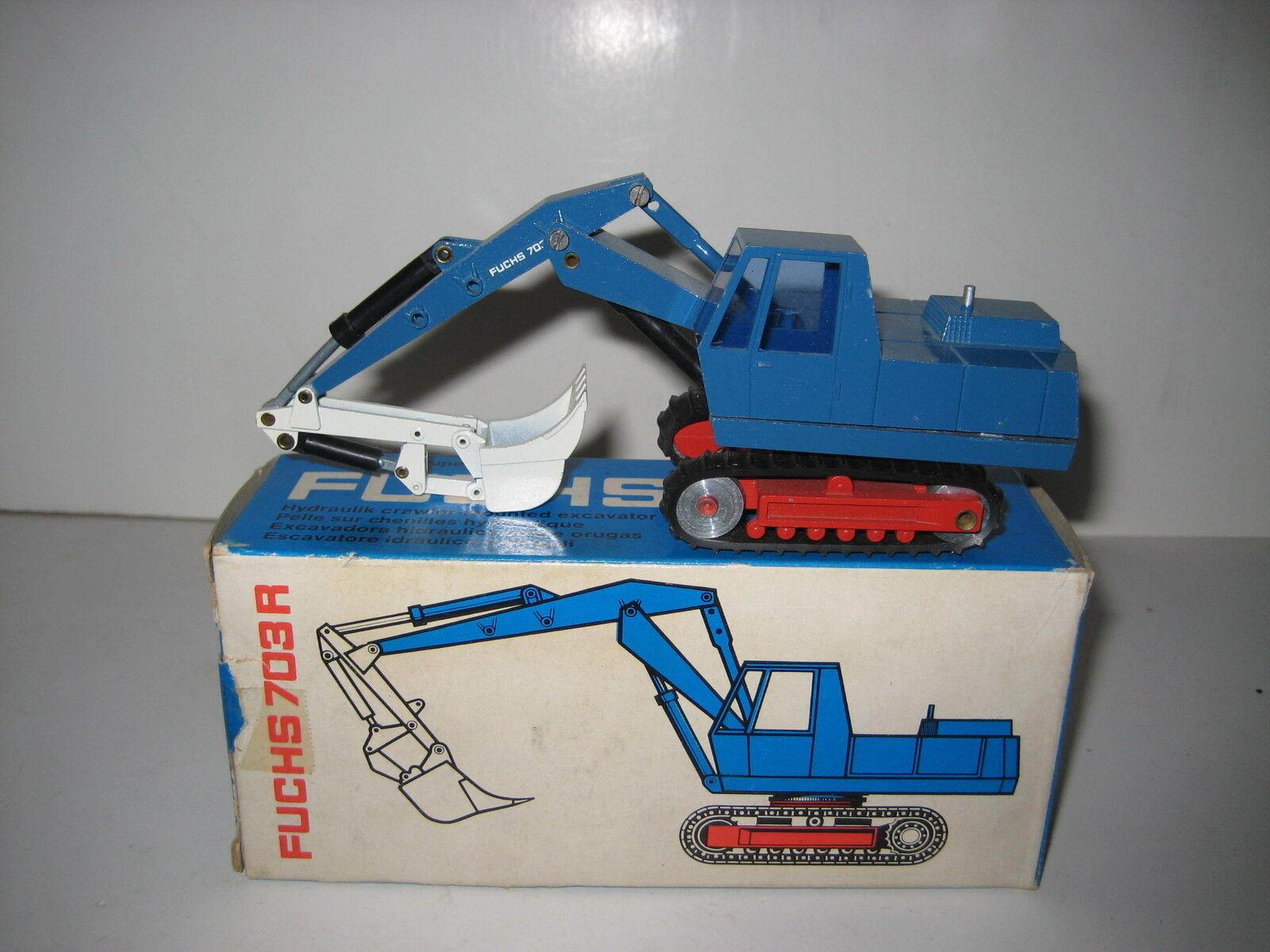 FUCHS 703r excavator backhoe loaders caterpillar  102.2 nzg 1 50 EMB. orig