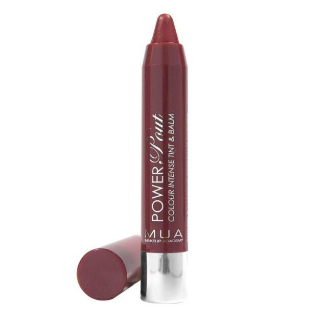 MUA Pro Power Pout Colour Intense Tint Lip Balm Lipstick Lip gloss Chubby Stick
