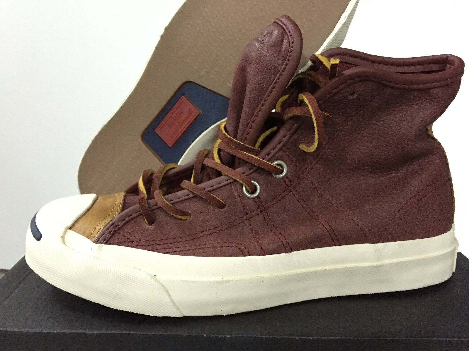 New Converse Jack Purcell Johnny Andorra Brown Uomo shoes  4.5 140860C