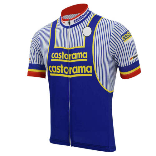 Ti Raleigh fignon Brand New Team Castorama Jersey cycling Jersey