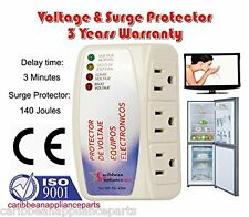 CAP-1153 Appliance New Voltage & Surge Protector 3 Outlets /3 YEARS WARRANTY