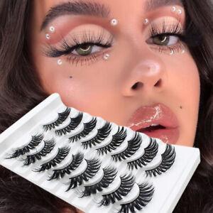 3D-Mink-Natural-Thick-False-8-Pairs-Fake-Eyelashes-Eye-Lashes-Makeup-Extension