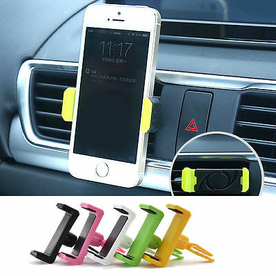 Universal Auto Car Air Vent Mount Cradle Stand Holder For iPhone Cell Phone GPS