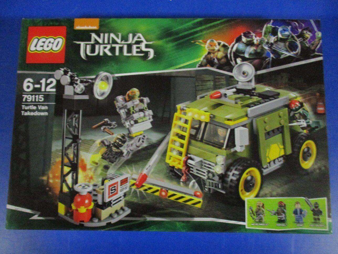 LEGO Tartarughe Ninja 79115 Turtle Van NUOVO OVP