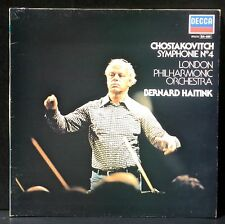 Chostakovitch / Shostakovich Symph 4 London Phil. Haitink LP CV EX & LP NM