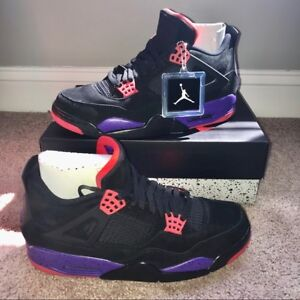 purchase cheap 213ce fb709 Image is loading Nike-Air-Jordan-Retro-IV-4-NRG-RAPTORS-