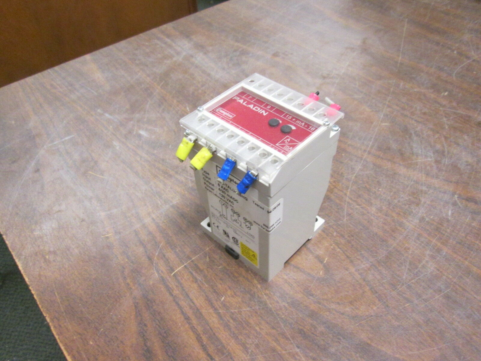 Crompton Paladin Transducer 253-TALU-LSHG Input  5A AC Output  4 20mA DC Used