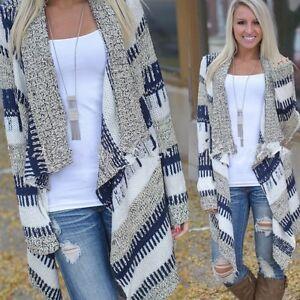 Women-Cardigan-Long-Sleeve-Knitted-Sweater-Outwear-Loose-Jacket-Coat-Lady-Tops