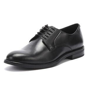 vagabond amina womens black leather shoes ladies lace up