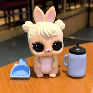 LOL Surprise Pets BUNNY WISHES Rabbit Doll animals with 2pcs Shovel /& Bottle toy