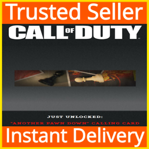 Call of Duty: Black Ops Cold War / Another Pawn Down Calling Card DLC