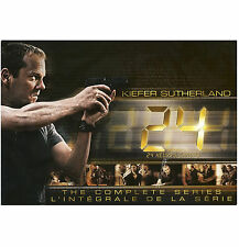 24: The Complete Collection Series 55 Disc DVD Gift Box Set   BRAND NEW