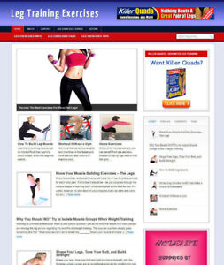 LEG-TRAINING-EXERCISES-BLOG-AND-AFFILIATE-WEBSITE-WITH-BANNERS-AND-STORE