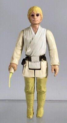 Vintage Original Star Wars Farm Boy Luke Skywalker 3 75 Figure Complete As Is Ebay