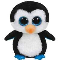 Ty Beanie Boo's 6 Waddles The Penguin Plush