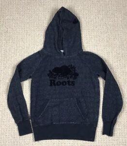 422125a6b EUC Black Pepper Roots Canada Women's Original Kanga Hoody Hoodie ...