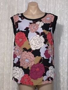 NEXT-UK-SIZE-12-FLORAL-TOP-AS-NEW