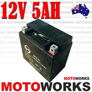 12V-5AH-Battery-50cc-70cc-110CC-125CC-ATV-QUAD-Bike-Gokart-4-Wheeler-Buggy-Dirt