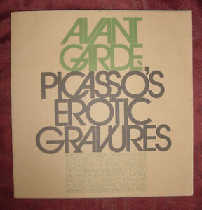 RARE-AVANT-GARDE-September-1969-PABLO-PICASSO-Erotic-Gravures-Drawings