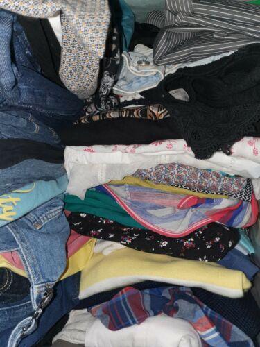Second Hand Bekleidungspaket Kleidung Damen Konvolut Posten Gr XS 34 10 Teile