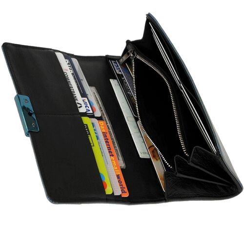 Geldbeutel Damen Mandarina Brieftasche Geldbörse Lang Portemonnaie Groß Duck gHnZaxnqX