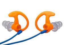 SureFire EP5 Earplugs Orange Medium Sonic Defenders Triple-Flanged 26dB w/ Case