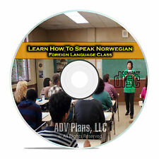 Learn How To Speak Norwegian, Fluent Foreign Language Training Class, CD E10