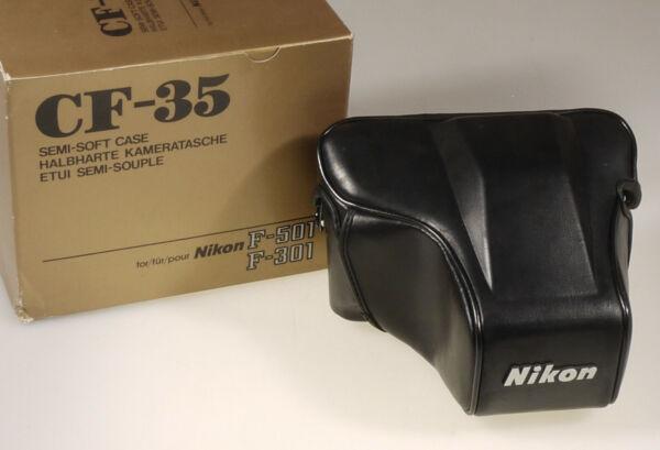 (prl) Nikon Cf-35 Cf 35 Semi Soft Case Etui Semi-souple Custodia Kameratasc. 501 Les Clients D'Abord