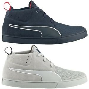 3ad3164e51f9 Puma Rbr Desert Boat Vulc Shoes Men s Sneakers Leather Textile Red ...
