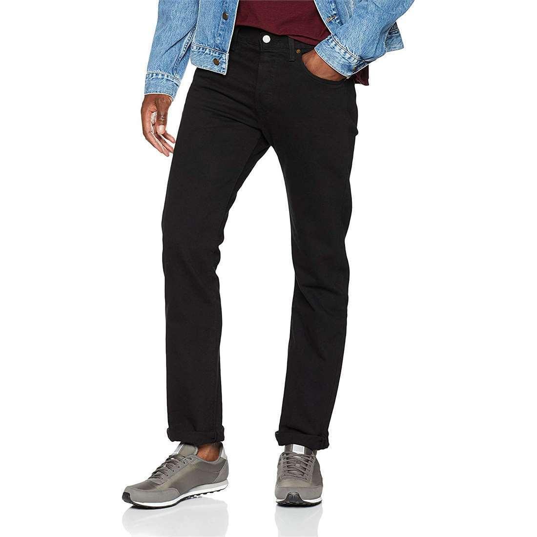 822e47cd897 Levi's Mens 501 Original Fit Jeans - Polished Black 38x30 30 Regular for  sale online | eBay