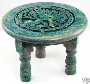 6-034-Wooden-Round-Tree-of-Life-Altar-Table