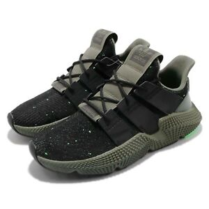 7afceb6434a20 Image is loading adidas-Originals-Prophere-Black-Shock-Lime-Men-Running-