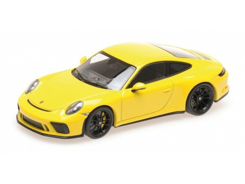 MINICHAMPS 1  43 PORSCHE 911 (991.2) GT3 TOUbague 2018 GIALLA MODELLINO  la meilleure offre de magasin en ligne