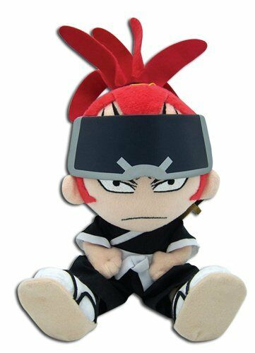 """8/"""" Renji GE-6980 GE Animation Official Bleach Plush Stuffed Toy"""