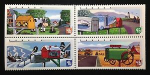 Canada-1849-1852a-MNH-Rural-Mailboxes-Block-of-Stamps-2000